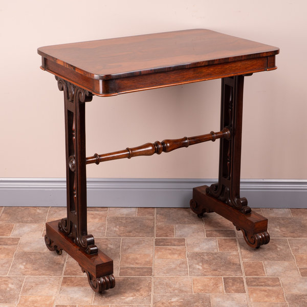 Rosewood Stretcher Table