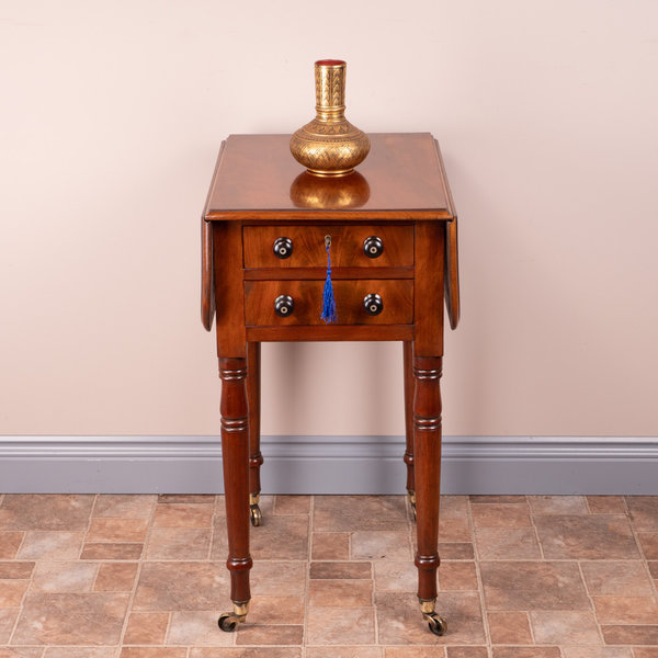 Two Drawer Pembroke Work Table