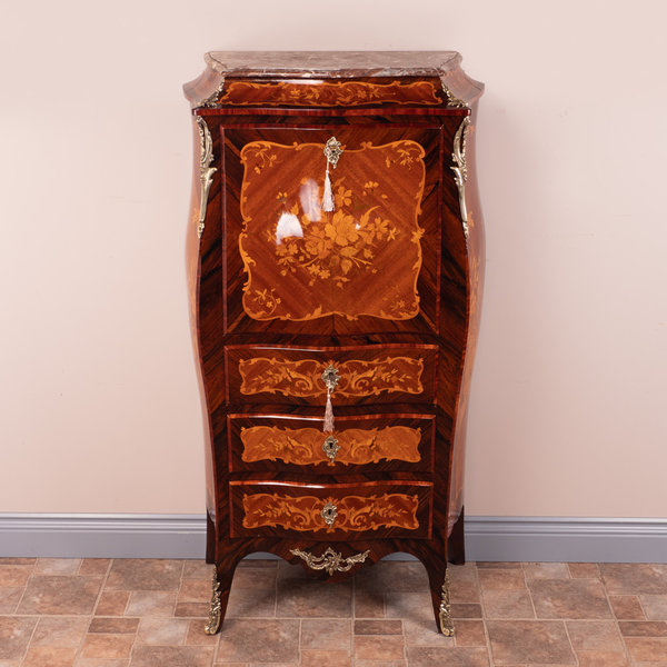 Inlaid Secretaire Abbatant