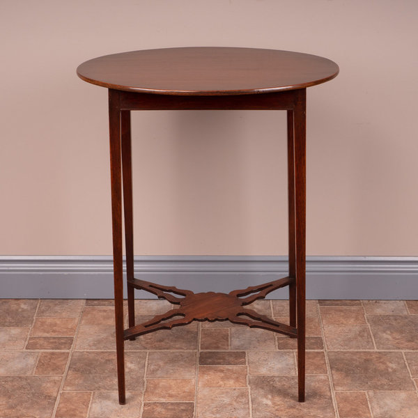19th C Mahogany Oval Occasional Table