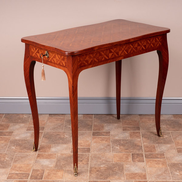 French Parquetry Table