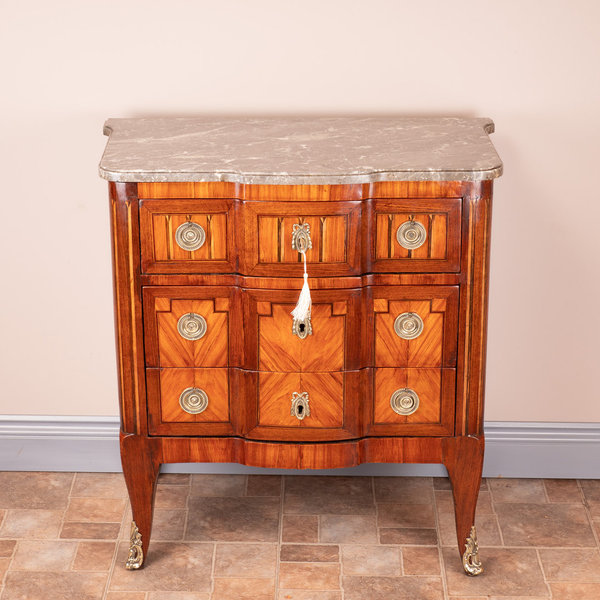 Continental 3 Drawer Commode Chest Of Drawers