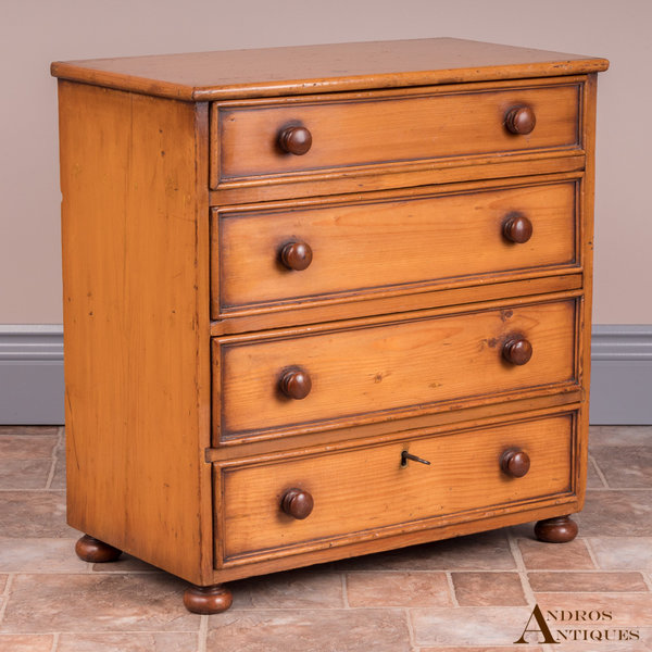 Pine Collectors Chest