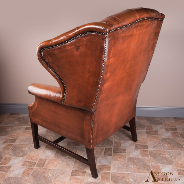 Leather Wingchair