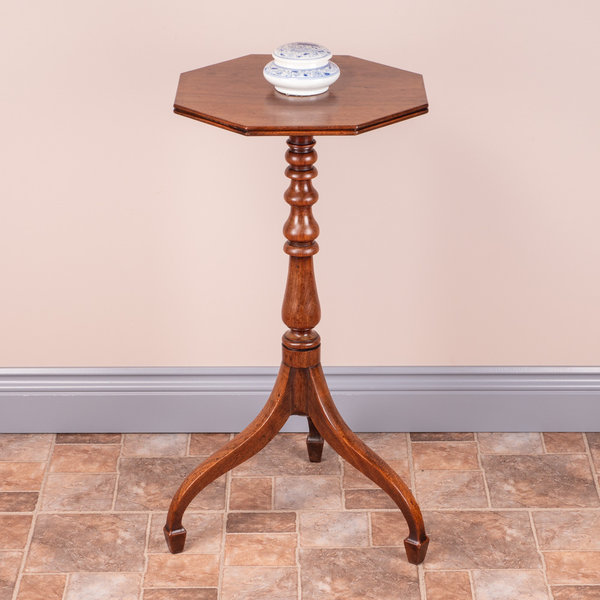 Mahogany Lamp/Occasional Table