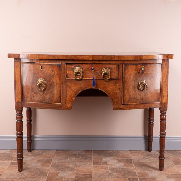 Small Georgian Mahogany Sideboard