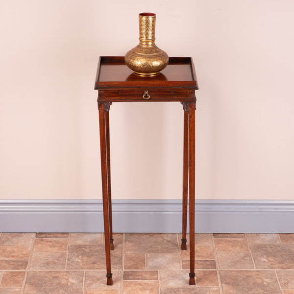 Small Occasional Table With Slide