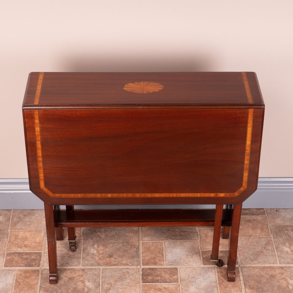 Inlaid Mahogany Sutherland Table