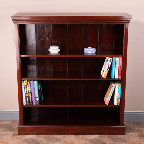 Good Size Open Bookcase
